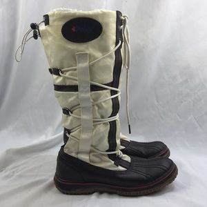 Pajar Tall Winter Boots Nylon & Leather